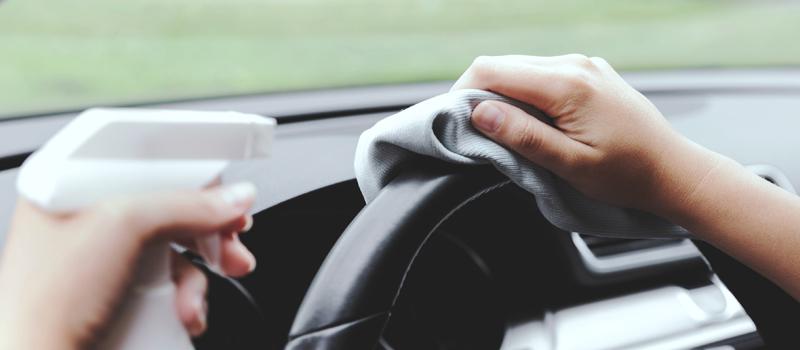¿Cómo desinfectar tu coche de coronavirus?